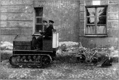 Трактор 12 НР (ГОЗ «Обуховский завод»).