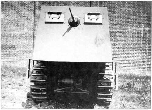 Бронетрактор Д-10 (РГВА).