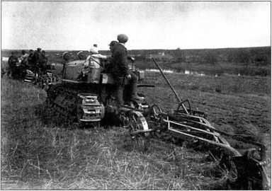 Трактор «Клетрак», 1930г. (архив автора).