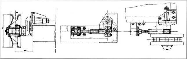 Трактор БИВ. Натяжное приспособление.Проект.