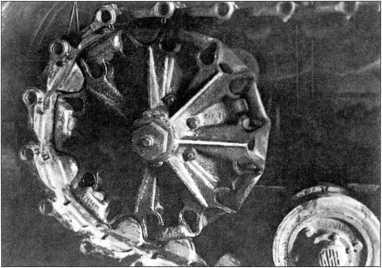 Трактор «Коминтерн» №2. Вид зубового зацепления сбоку (РГВА).