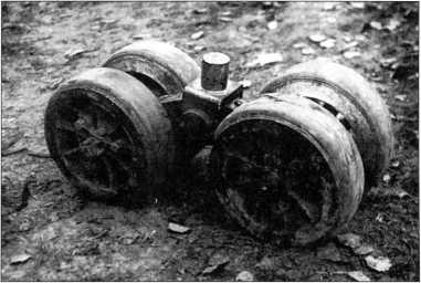 Опорные катки (РГВА).
