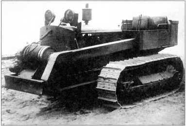 «Катерпиллер» D-7 (архив автора).