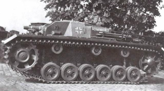 На фото: StuG III Ausf. В.