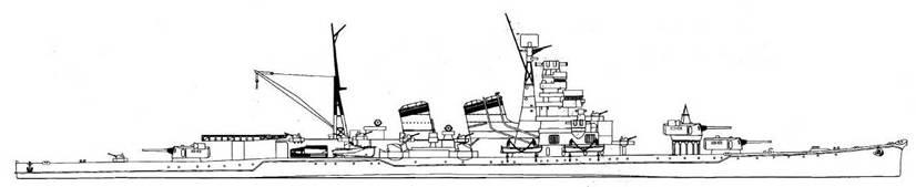 Aoba Class Aoba, 1945