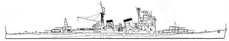Myoko Class Myoko, 1945