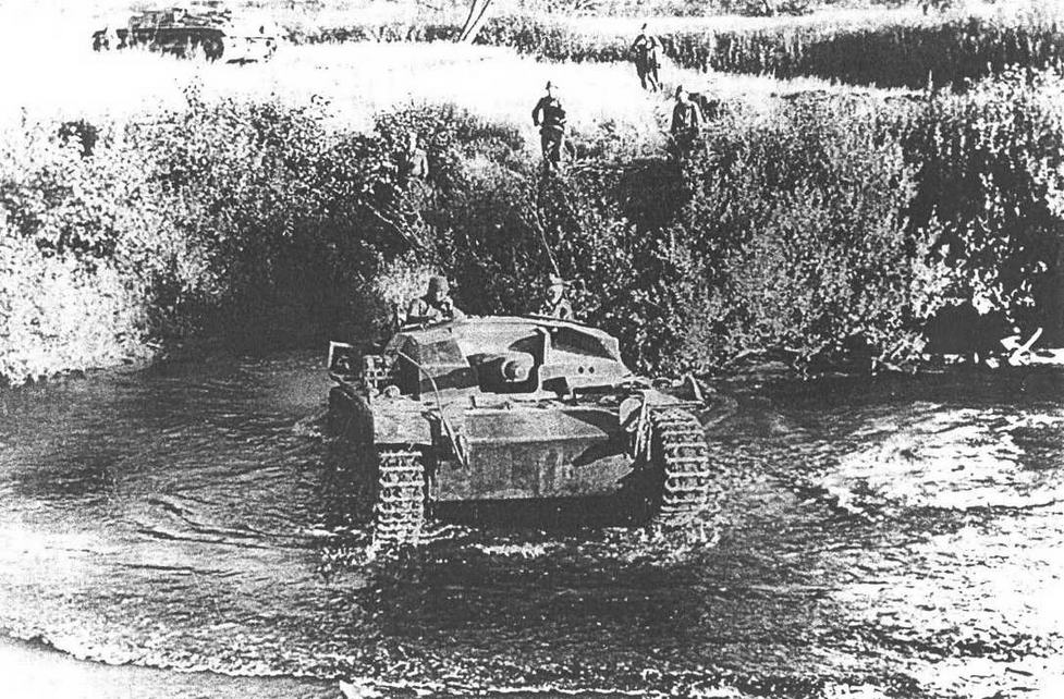 StuG III Ausf В. Район Вязьмы, осень 1941 г.