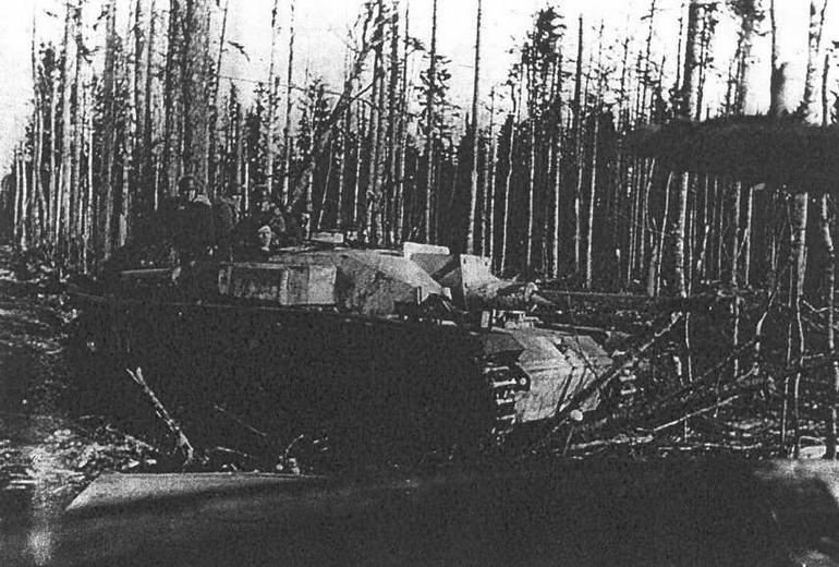 StuG III Ausf F/8. Белоруссия, весна 1944 г.