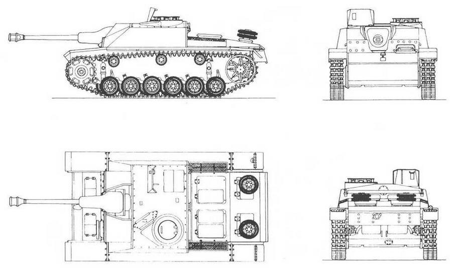 SturmGeschutz 40 Ausf G с маской Saukopf (свиная голова)