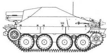 Sturmpanzer 38(t) /«Hetzer-Bison»/