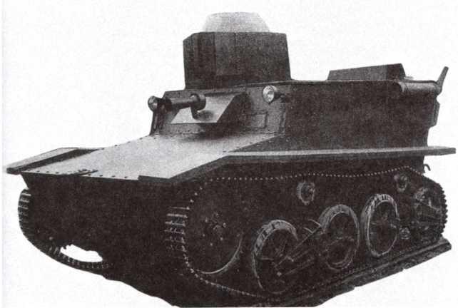 Опытный образец танка Т-41, общий вид. 1932 год (АСКМ).