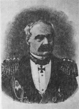 Управляющий Морским министерством с 1876 по 1880 гг. адмирал С. С. Лесовский