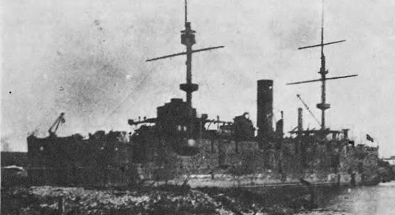 Корабль после наводнения. 1926 г.