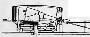 """Башенная установка броненосца """"Thanderer"""" с дульнозарядными орудиями."""
