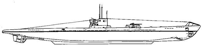 Подводная лодка IX А серии