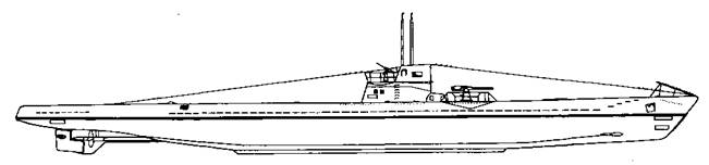Большие подводные лодки IX В серии