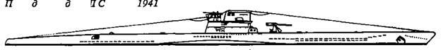Подводная лодка VIIС серии, 1941 г.
