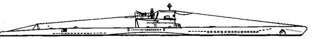 """Подводная лодка """"U-81"""" VIIС серии, 1943 г."""