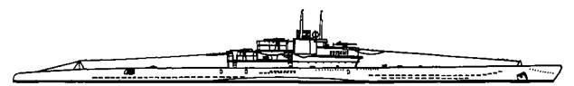 """Подводная лодка """"U-345"""" VIIС серии, 1943 г."""