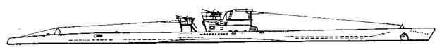 """Подводная лодка """"U-84"""" VIIС серии, 1943 г."""