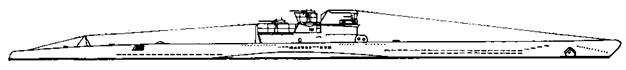 Подводная лодка VIIС серии, 1943 г.