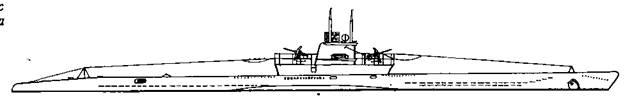 Проект вооружения подводных лодок VIIС серии двумя спаренными 37-мм зенитными автоматами