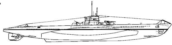 Подводная лодка VIIА серии, 1935 г.