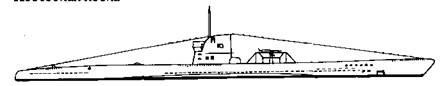 """Подводная лодка """"U-б1"""" IIС серии"""