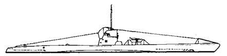 """Подводные лодки """"U-120"""" и ''U-121""""IIВ серии"""