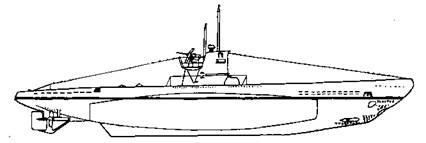 Подводная лодка IIВ серии, 1944 г.
