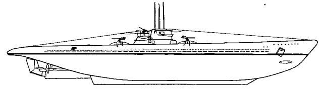 Подводная лодка XIV серии