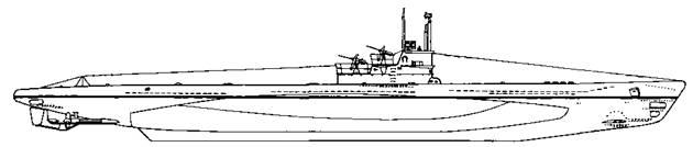 Подводная лодка VH F серии