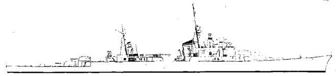 """Проект легкого крейсера типа """"М"""""""