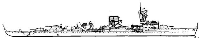 """Легкий крейсер """"Лейпциг"""", 1933 г."""