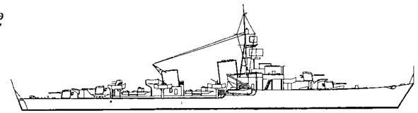 """Эскадренный миноносец """"Z-51 """" проекта """"Эсминец 1942"""""""
