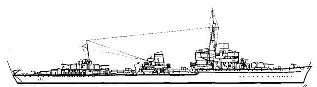 """Эскадренный миноносец """"Z-24"""", 1944 г."""