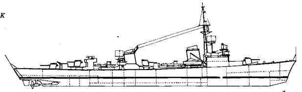 "Корабль проекта ""Флотский миноносец 1941"""