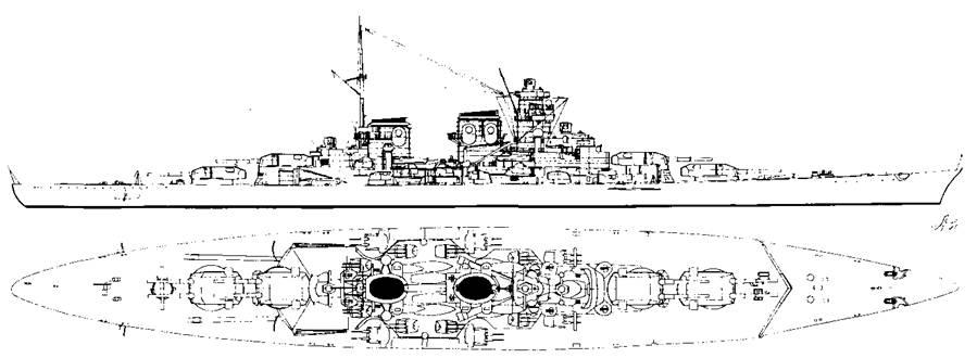 """Линейный корабль типа """"Н"""""""