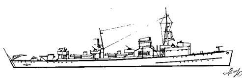 """Корабль проекта """"Миноносец 1935"""""""
