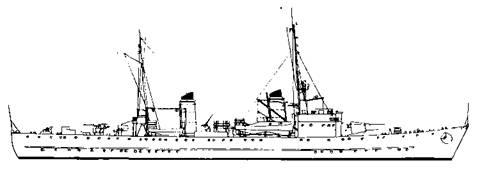 """Эскортный корабль типа """"F"""" 1941 г."""