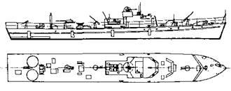 """Катерный тральщик типа """"R-130T"""