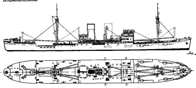 """Вспомогательный крейсер-рейдер """"Атлантис"""""""