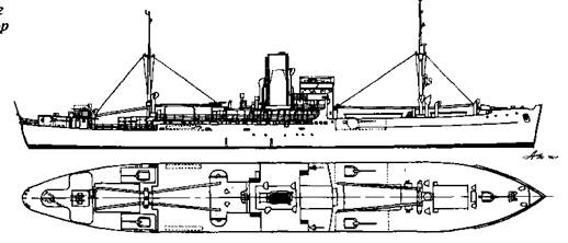 """Вспомогательный крейсер-рейдер """"Тор"""""""