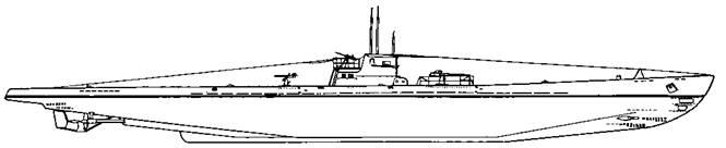 Подводная лодка IX D2 серии, 1942 г.