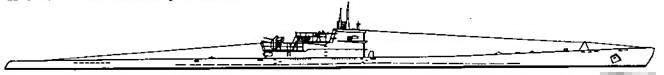 Подводная лодка IX D2 серии, 1944 г.