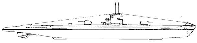 Проект подводной лодки XI серии