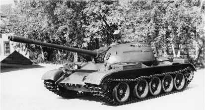 Средний танк Т-54А.