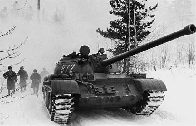 Танк Т-54Б, полученный в результате модернизации Т-54-3.