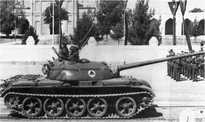 Танк Т-54-3 афганской королевской армии. Конец 1970-х годов.