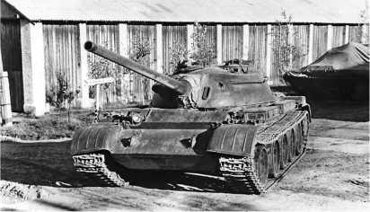 Огнеметный танк ОТ-54.